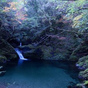 高樽川の雄蛇渕と高樽の滝