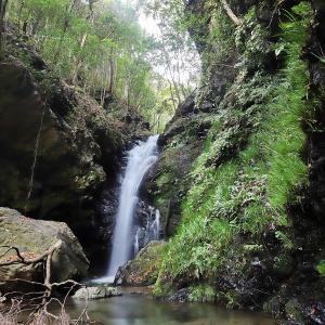 越知町にある3つの龍王の滝