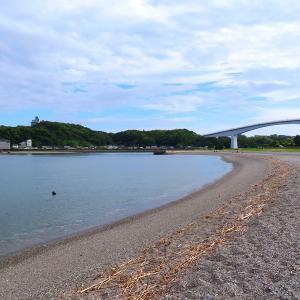 種﨑の浜と千松公園