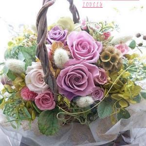 お届けしたお花です…☆