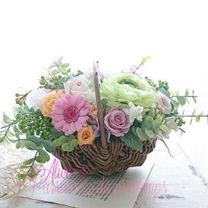 ピンクのガーベラが可愛い…Happyな贈り物 ~*