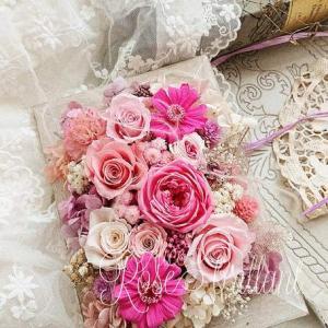ピンク♡大人かわいいシャビーシックフレーム