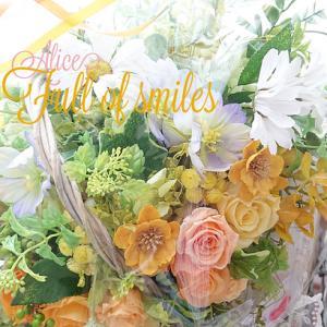 お届けしたお花たちです…笑顔があふれますように
