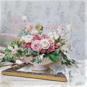 お届けしたお花です…アンティークな雰囲気