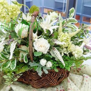 奈良北部会館のレッスン…お花に癒されて