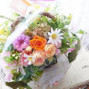 お届けしたおおはお花たち…世界で一つ