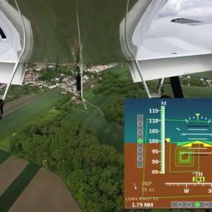 小型航空機用の自動着陸システム
