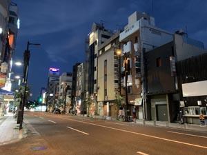 サークル活動 ウォーキング部 秋田町歓楽街