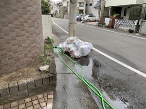 秋田町発24時「唾を吐く」