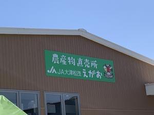 旬の食材を求めて JA大津松茂 えがお 農産物直売所へ