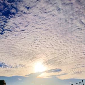 徒然のつぶやきです☆今日の雲って、なんだろ~(*゜Q゜*)