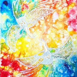 今。。。世界中へ、平安の鳳凰の光を⭐️