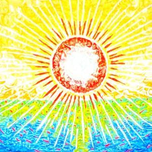 光✨夜明け。浄化、平癒の祈りと光