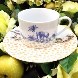 アニマル大集合のカップ&ソーサー♪アトリエPinot・Noir(ピノ・ ノ ワール)