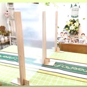 旦那さん作♡教室のテーブルパーテーション♪アトリエ Pinot・Noir(ピノ・ ノ ワール)