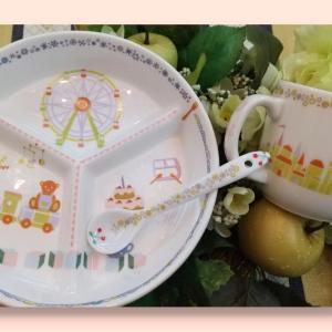 1歳の誕生日に陶器のセット♡・:*♬アトリエ Pinot・Noir(ピノ・ ノ ワール)