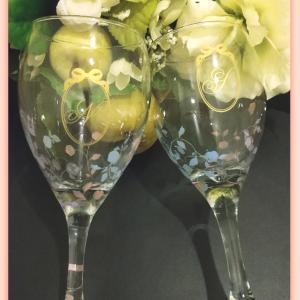 ワイングラスの作品☆*:.。.アトリエ Pinot・Noir(ピノ・ ノ ワール)