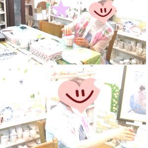 レッスンの一コマ☆*:.。.*☆アトリエ Pinot・Noir(ピノ・ ノ ワール)