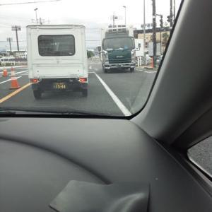 台風19号の影響で20号線の日野橋は上下線で通行止めになっています。