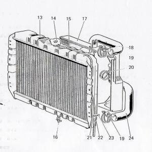 4DR50、4DR51エンジン用ラジエターホース新作プロジェクト その②