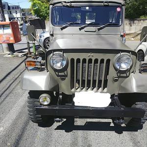 千葉県のくまさんがJ24自衛隊仕様車両を手ばなされます。三菱ジープ互助会メンバーでご興味のある方はいらっしゃいませんか?