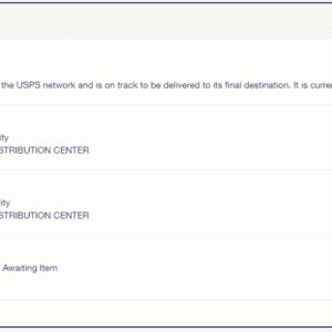 今度の米国からの荷物の発送は、現在のところ順調です。USPSでも郵便物のシール発行が遅延のネックになっている模様です。その②
