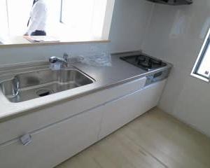 改造工事をしてビルトイン食器洗い乾燥機導入