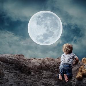 山羊座の満月
