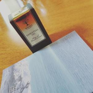 来たうふふー楽しみです#BARAKA#フランキンセンス精油 #いい香り#私の癒し