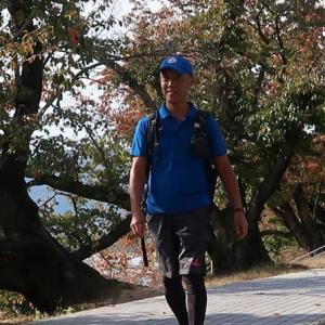 区民ハイキングでボランティアした日 volunteered to lead citizen participants on a hiking