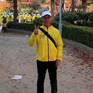 2019大阪マラソン、ボランティアの日 volunteered to be a staff of the Osaka marathon