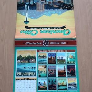 ジャッキーのカレンダーはやっぱしアメリカ製 received American wall calendar from America by Amazon