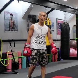 あしたのジャッキー(ワンツー再確認編) one two is very important for boxing