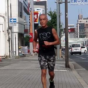 ジャッキー中年と夏の休日(西宮編2020①) my running trip to Nishinomiya where is west from home