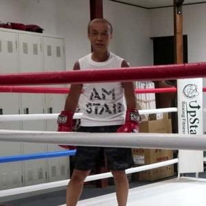 あしたのジャッキー(オンザリング編) Jackie mitt hitting on the ring