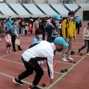 久しぶりにイベントでボランティアした日 volunteered at sports event after a long time