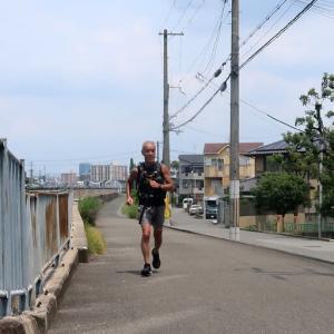 布施ゴールデンジョギングルート(二か月ぶり編) enjoyed jogging to a public bath and a bar for the first time in two months