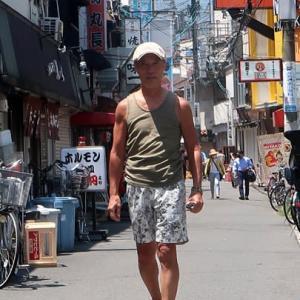 マルシンで朝食を(夏の定番編) can enjoyed conger eel and sashimi eggplant in summer