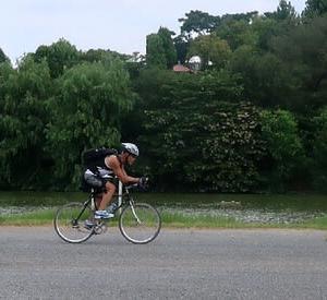 アイアンマンジャッキー(花博記念公園編) bike riding in the Flower Expo Memorial Park