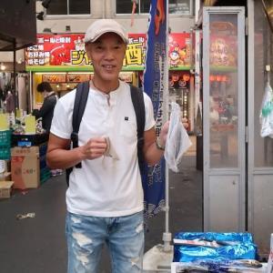 千林商店街の魚屋さん can get reasonable fresh fish in my neighborhood market