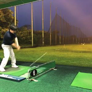 人生4度目のゴルフ練習