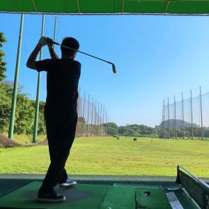 人生6度目のゴルフ練習