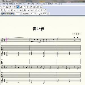 合奏で弾く曲を編曲中