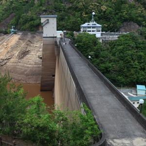 宇連ダム貯水率0%