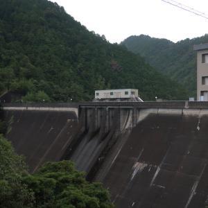 宇連ダム満水