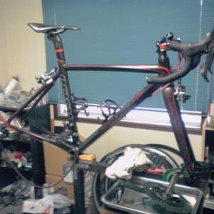 平成最後はロードバイクの整備