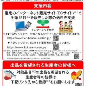 水産物のネット通販で送料が無料になるかも? 水産物販売促進緊急対策事業