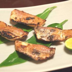 レンコ鯛の西京漬けと醤油みりん漬けの試食