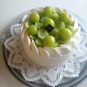 ⁂シャインマスカットのショートケーキ⁂