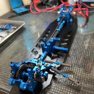 タミヤ TRF TB EVO.7制作 その4 ギヤデフの組み立て